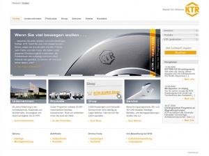 Web Assessment Konzept Informationsarchitektur Relaunch KTR Kupplungstechnik GmbH ktr.com